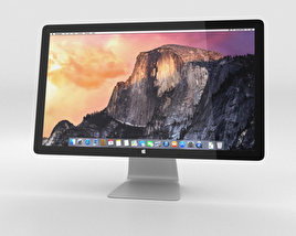 3D model of Apple Thunderbolt Display 27-inch 2014