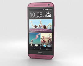 3D model of HTC One Mini 2 Pink