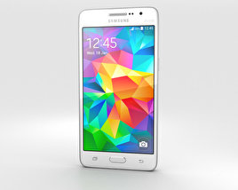 3D model of Samsung Galaxy Grand Prime White