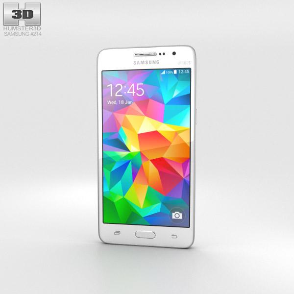 Samsung Galaxy Grand Prime White 3d model