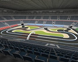 3D model of Racing Arena
