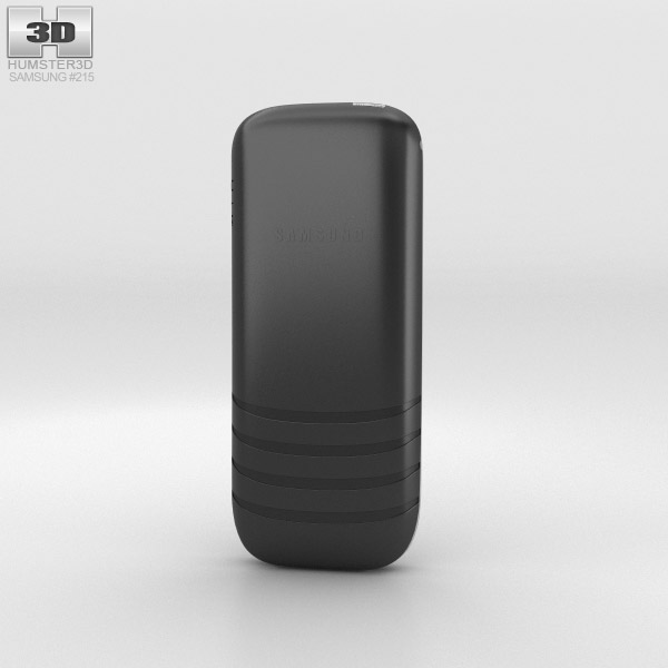 Samsung E1205 Black 3d model