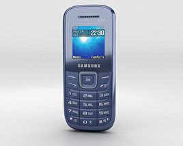 Samsung E1205 Blue 3D model