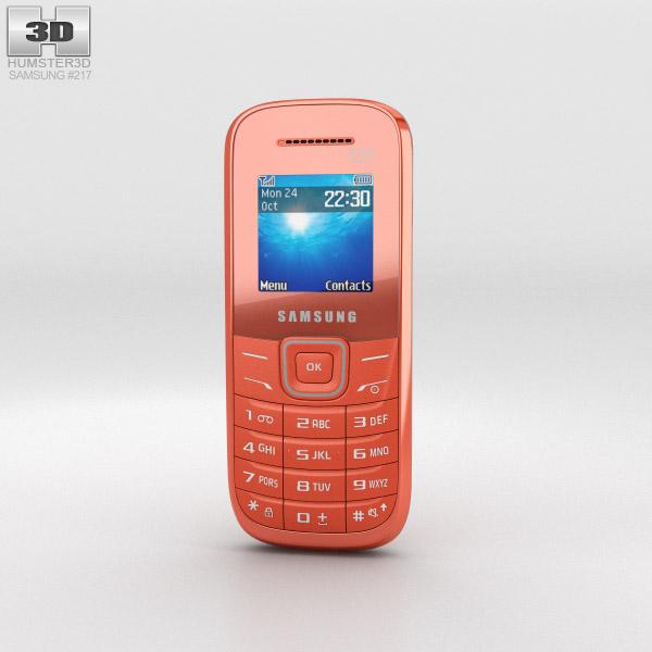 Samsung E1205 Orange 3D model