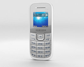 3D model of Samsung E1205 White