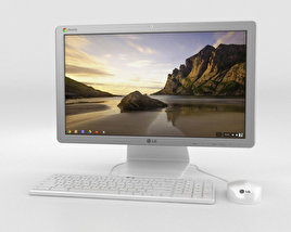 3D model of LG Chromebase White