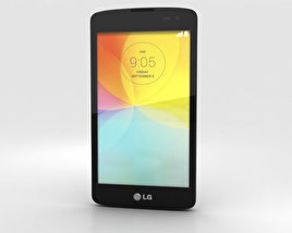 3D model of LG L Fino Black