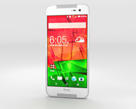 3D model of HTC Butterfly 2 White