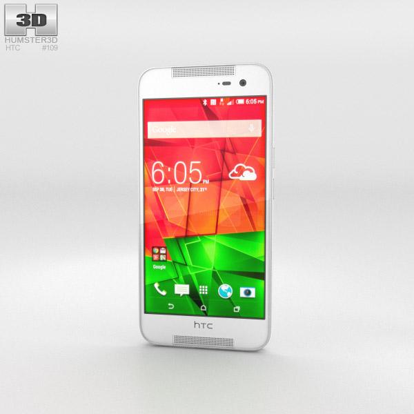 HTC Butterfly 2 White 3d model