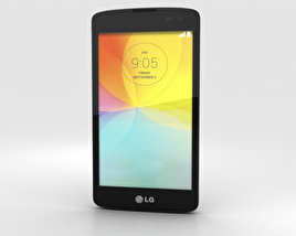 LG L Fino Green 3D model