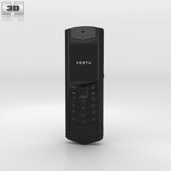 3D model of Vertu Signature Pure Black