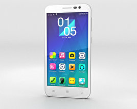 3D model of Lenovo Golden Warrior A8 White