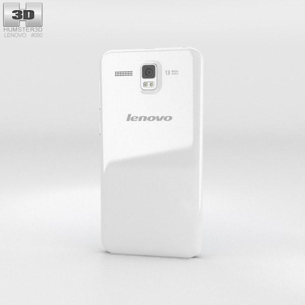 Lenovo Golden Warrior A8 White 3d model