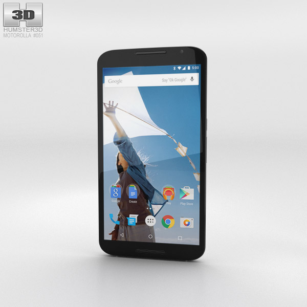 Motorola Nexus 6 Cloud White 3d model