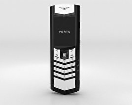 3D model of Vertu Signature Black and White