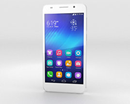 3D model of Huawei Honor 6 White