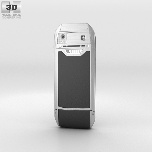 TAG Heuer Meridiist II Elegance Black Rubber 3d model