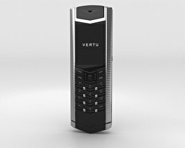 3D model of Vertu Signature Clous de Paris Stainless Steel