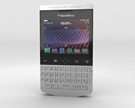 3D model of BlackBerry Porsche Design P'9981 Gray