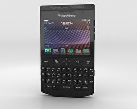 3D model of BlackBerry Porsche Design P'9981 Black
