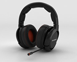 3D model of SteelSeries H-Wireless Gaming Headset