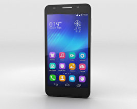 3D model of Huawei Honor 6 Black