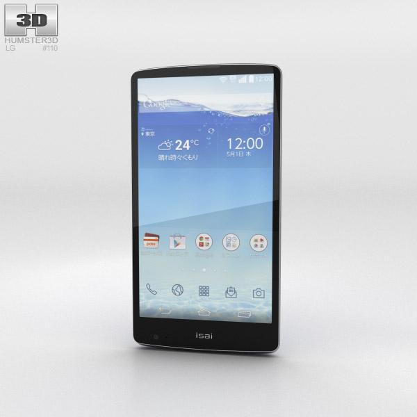 LG Isai FL Blue 3d model