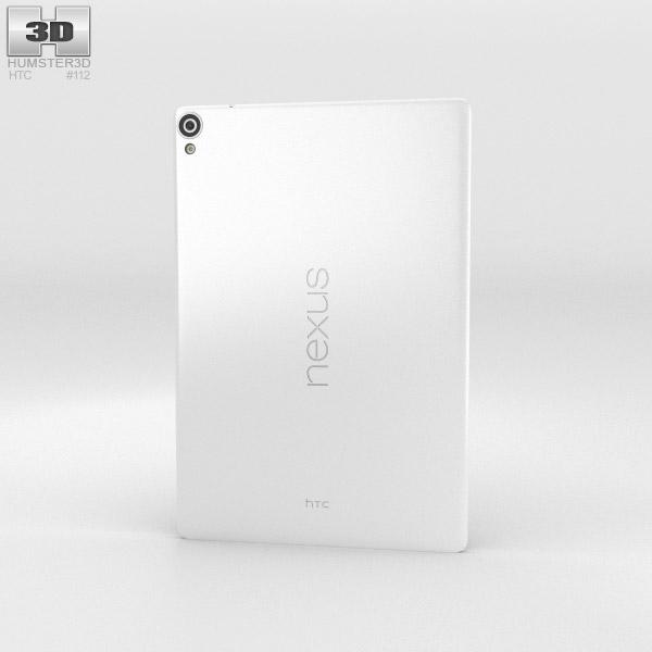HTC Nexus 9 Lunar White 3d model