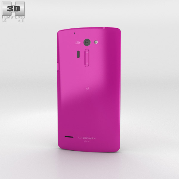 LG Isai FL Pink 3d model