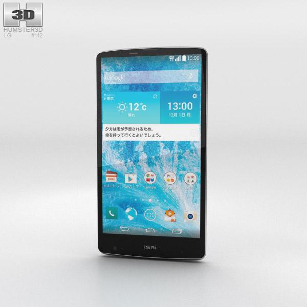 LG Isai VL Blue 3d model