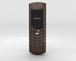 3D model of Vertu Signature Pure Chocolate Stainless Steel