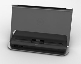 3D model of Dell Tablet Dock for Venue 11 Pro
