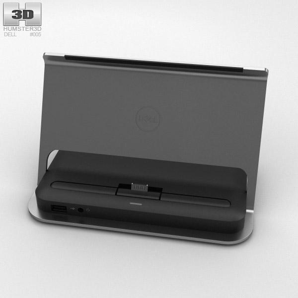 3D model of Dell Tablet Dock for Venue 11 Pro