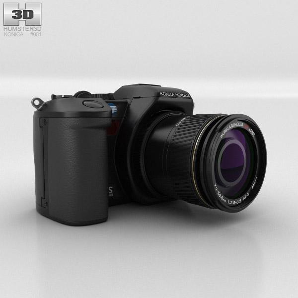 Konica Minolta DiMAGE A200 3D模型
