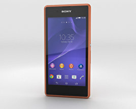 3D model of Sony Xperia E3 Copper