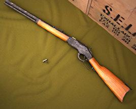 3D model of Winchester Model 1873