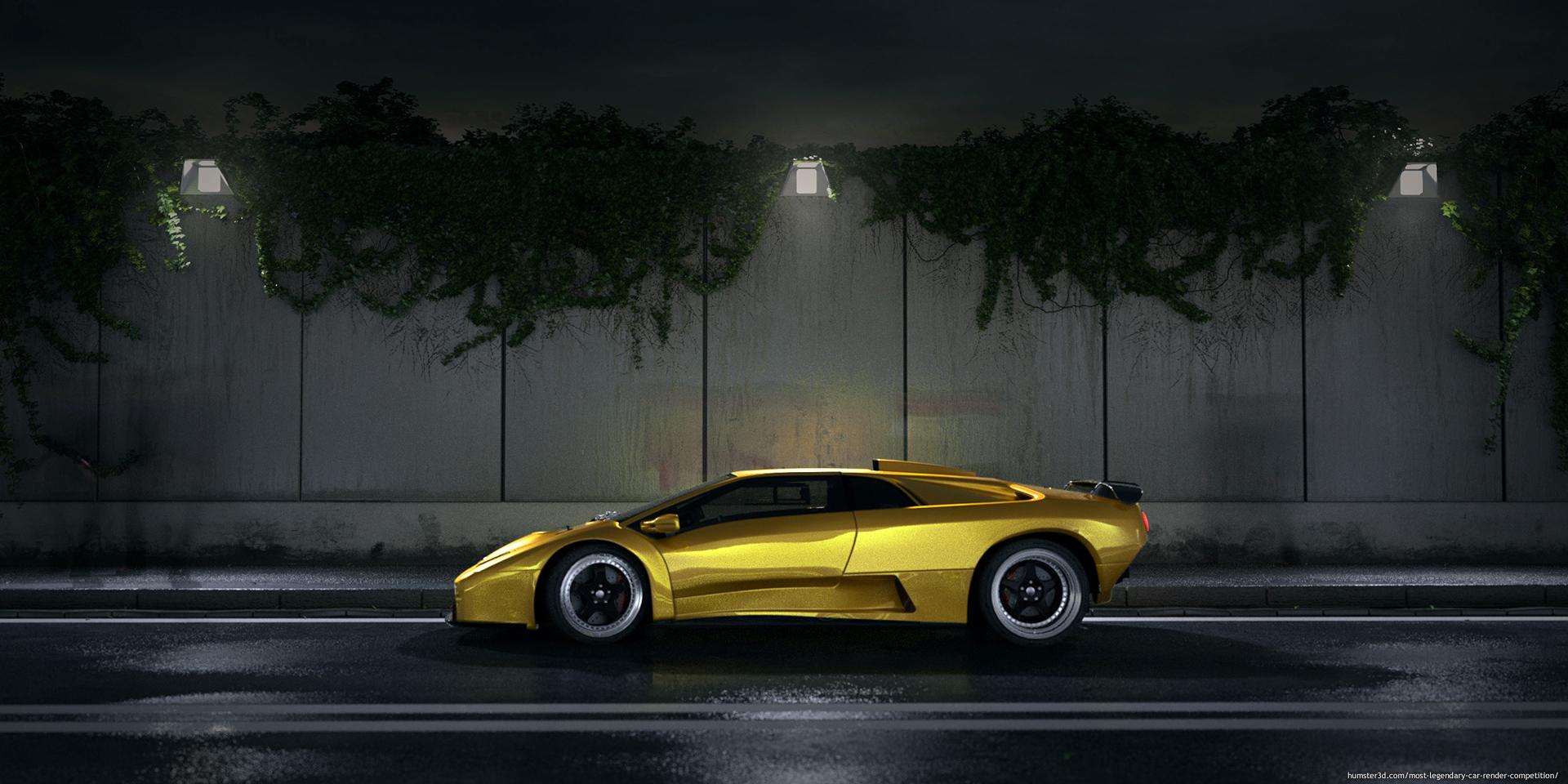 Golden ticket 3d art