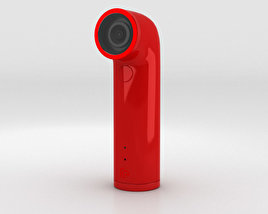 3D model of HTC Re Camera Red