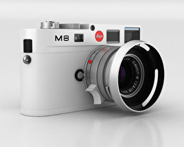 3D model of Leica M8 White