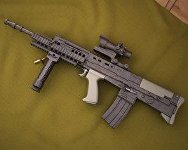 3D model of SA80 L85A2