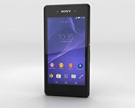 Sony Xperia E3 Black 3D model