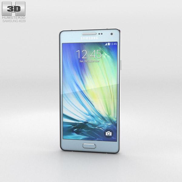 Samsung Galaxy A3 Light Blue 3d model