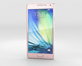 3D model of Samsung Galaxy A3 Soft Pink