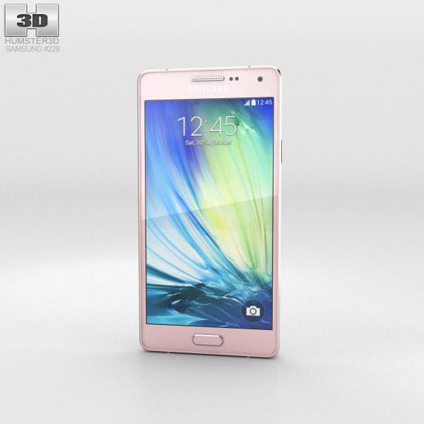 Samsung Galaxy A3 Soft Pink 3d model