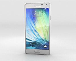 Samsung Galaxy A3 Platinum Silver 3D-Modell