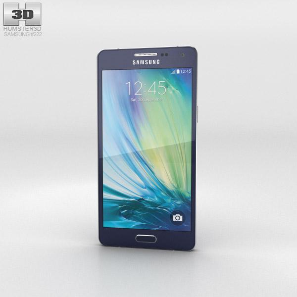 Samsung Galaxy A5 Midnight Black 3D model