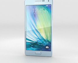 3D model of Samsung Galaxy A5 Light Blue