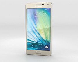 3D model of Samsung Galaxy A5 Champagne Gold