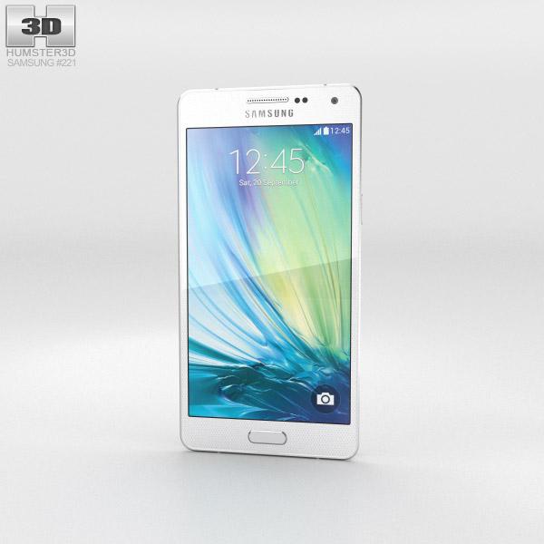 Samsung Galaxy A5 Pearl White 3d model