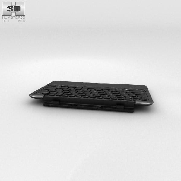 Dell Tablet Keyboard Mobile 3d model